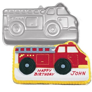 Fire Truck Birthday Cake on Fire Truck Birthday Cake