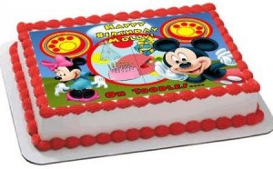 mickey mouse cake image