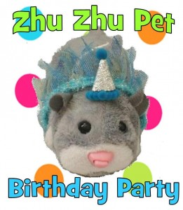zhu zhu pet birthday party