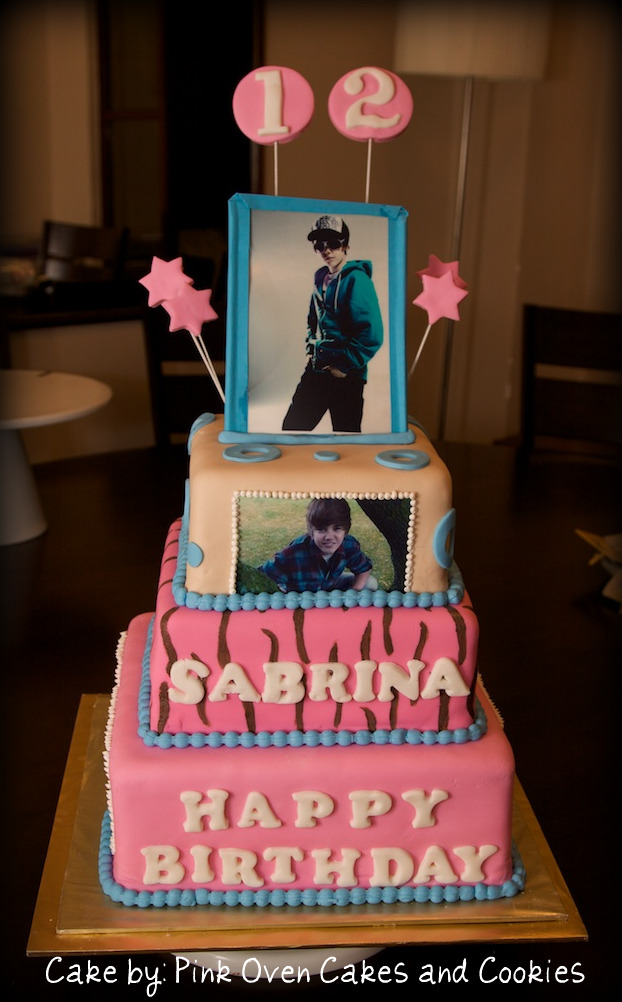If you want a Justin Bieber Birthday Cake using