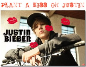Justin Bieber Games  Girls on Plant A Kiss On Justin The Girls Are Going To Have Fun With This Game