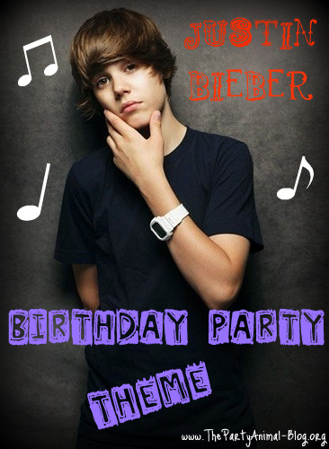 You can also stop by my Justin Bieber Party Post for Supplies,