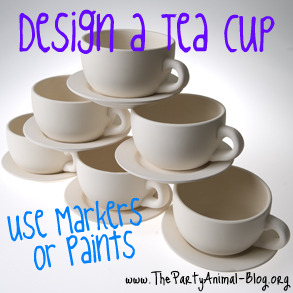 Craft Ideas Party Favors on Alice In Wonderland Tea Cup Party Craft   Thepartyanimal Blog