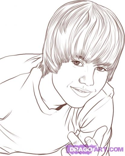 justin bieber coloring pages for girls. Justin bieber birthday cards