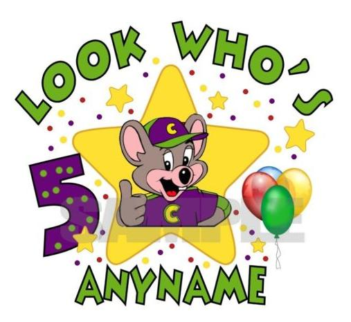 chuck e cheese party invitations | thepartyanimal-blog, Birthday invitations