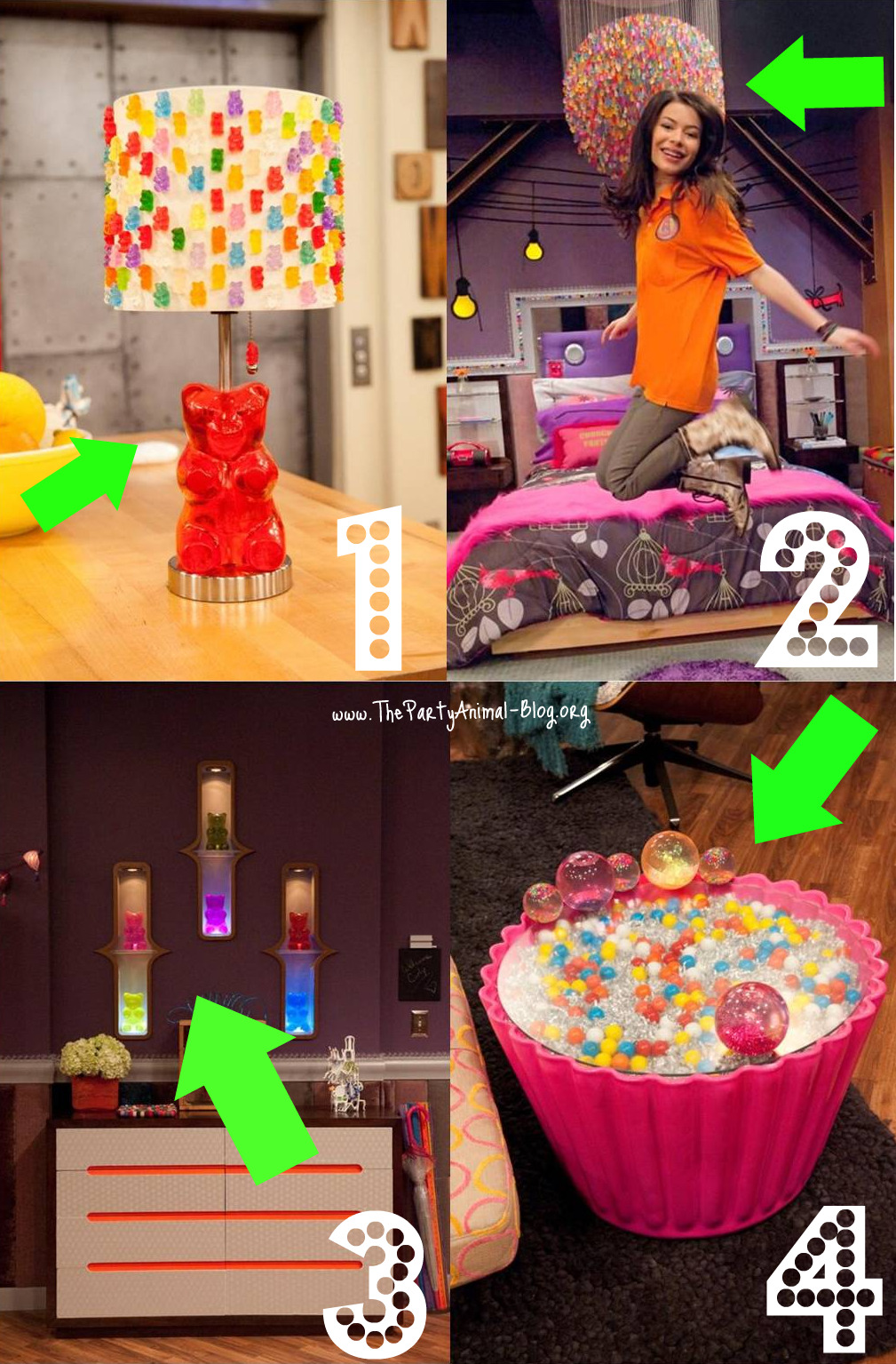 icarly celebrates her birthday with an icarly bedroom makeover