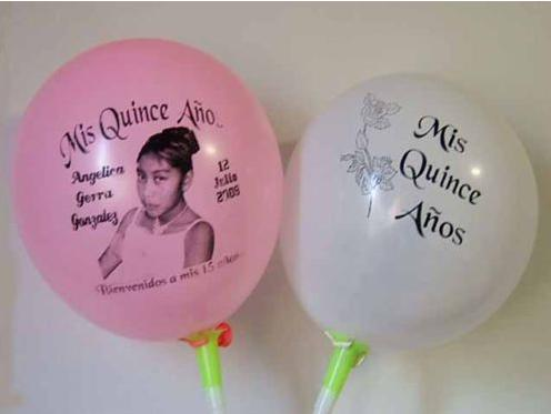 Personalized picture balloons