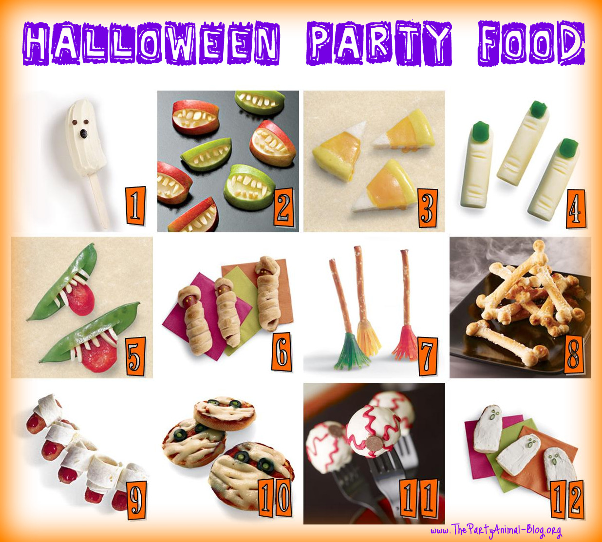 12 Easy Halloween Party Food Ideas that the Kids will Love ...