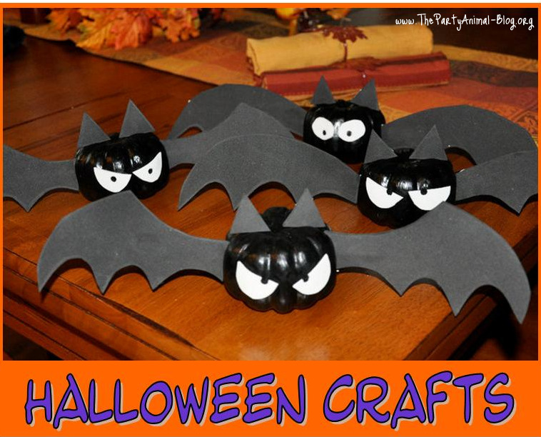 Kids Halloween Craft Ideas for Parties