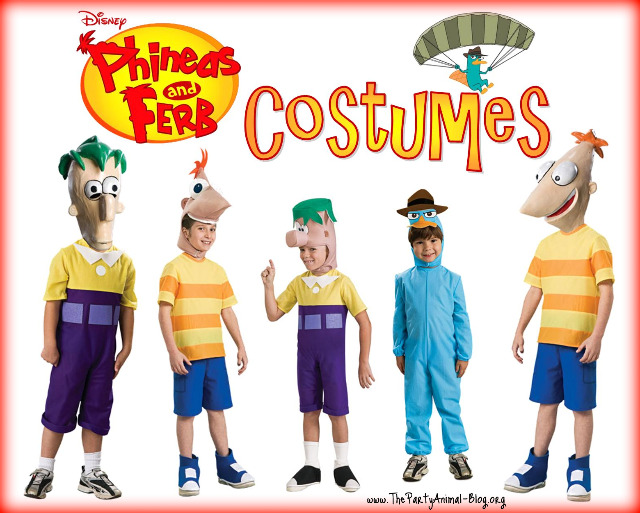 phineas and ferb costumes - Phineas Halloween Costume