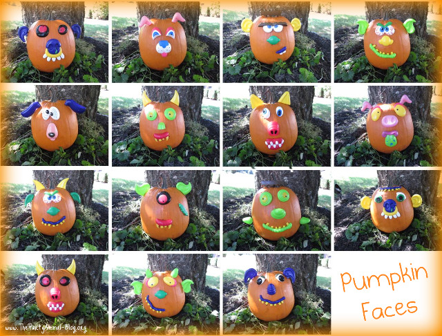 funny pumpkin faces. You can order the Pumpkin Push