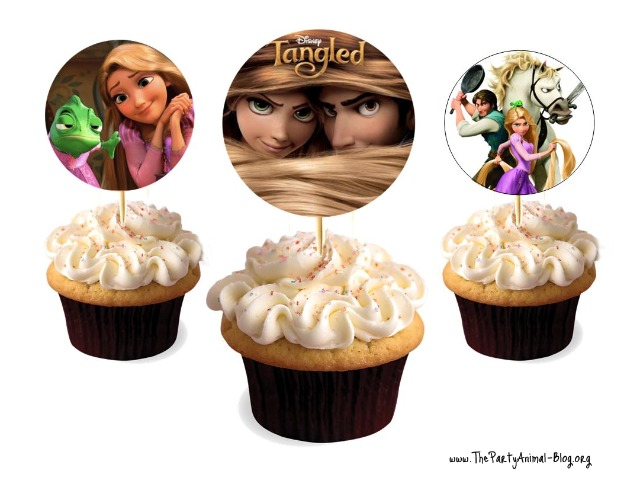princess and frog cake designs. Disney Tangled Cupcake Ideas