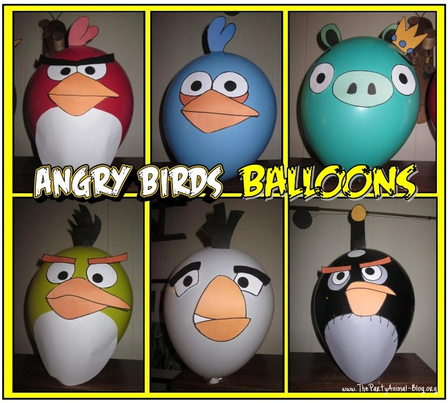 How to make angry birds balloons with free templates are you or someone you know a fan of the popular iphone game angry birds maybe your thinking of putting together an angry birds birthday party theme pronofoot35fo Images