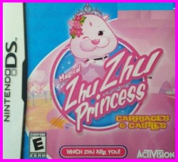 Zhu Zhu Princess DS