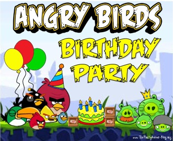 Halloween Craft Ideasyear Olds on Angry Birds Birthday Party Theme   Thepartyanimal Blog