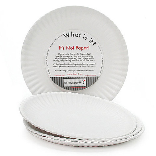 paper plates that look like china