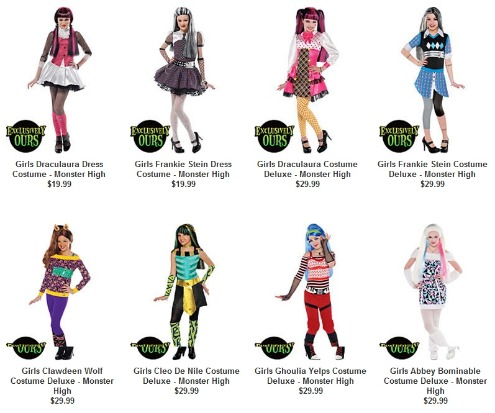 Party on Just In Are These Monster High Make  Up Kits     Each Kit Comes With