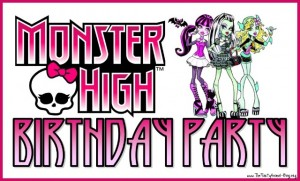 Make sure to stop by my Monster High Birthday Party Page for all your ...
