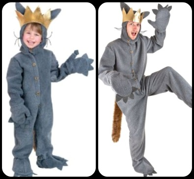 where the wild things are costumes i have seen here - Max Halloween Costume Where The Wild Things Are
