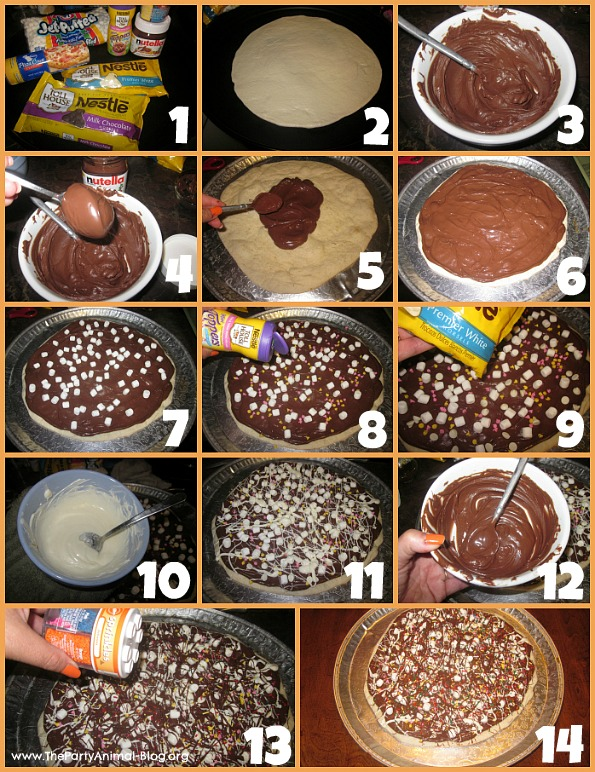 Chocolate Pizza 1