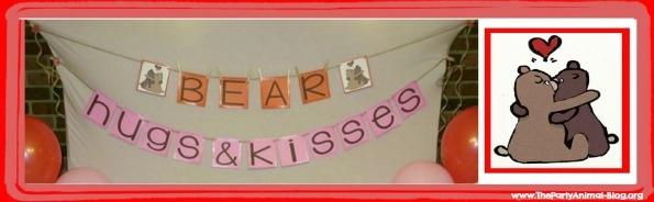 Bear Hugs and Kisses Banner