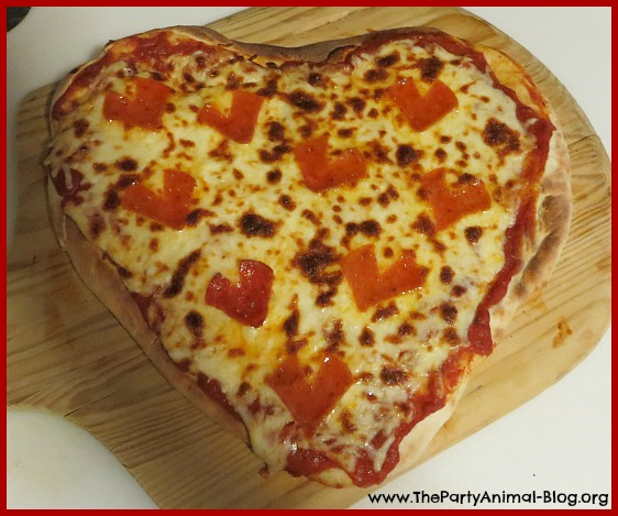 Pepperoni Heart Pizza 1