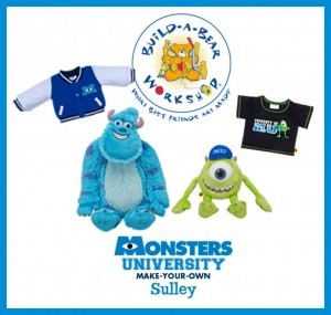 Build a Bear Mike and Sully