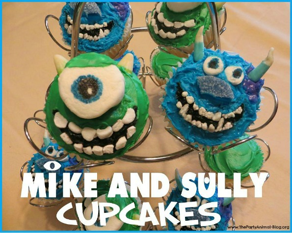 Mike and Sully Cupcakes 2