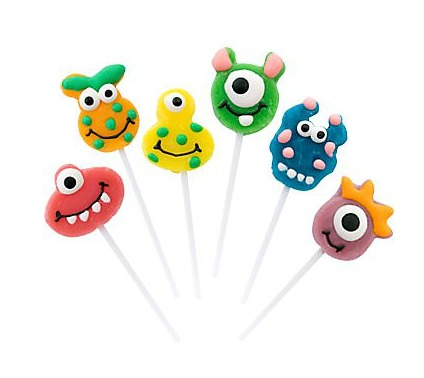 Monsters Lollipops