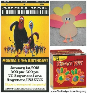 Free Birds Party Invitations