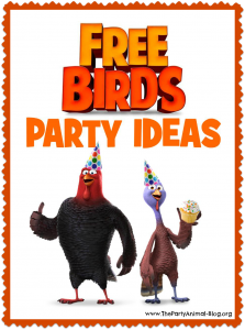 free birds party ideas