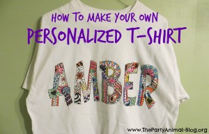 make your own personalized tshirt