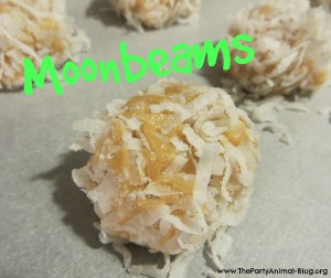 Moonbeams coconut balls